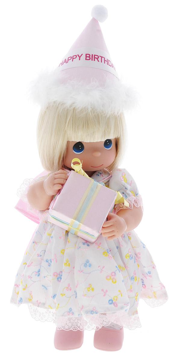 Precious Moments Кукла С Днем Рождения блондинка куклы и одежда для кукол precious кукла пастушка в розовом 14 см