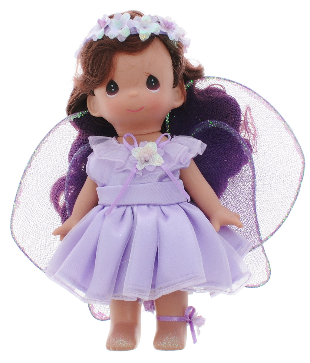 Precious Moments Мини-кукла Фея Фиалка precious moments мини кукла пастушка цвет платья светло коралловый