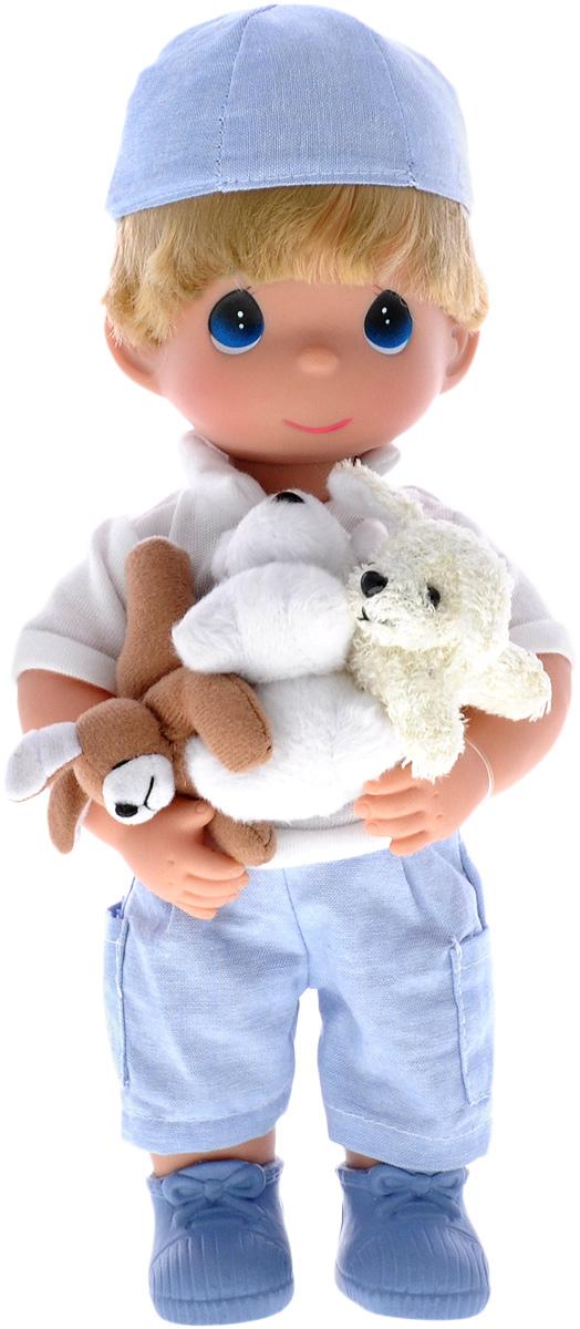 Precious Moments Кукла Мальчик и щенки куклы и одежда для кукол precious кукла с зонтиком 30 см