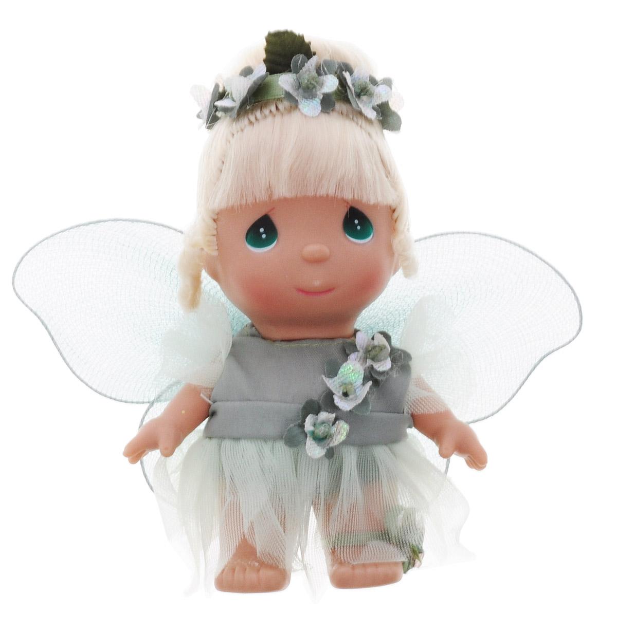 Precious Moments Мини-кукла Фея цвет наряда зеленый precious moments мини кукла колокольчик