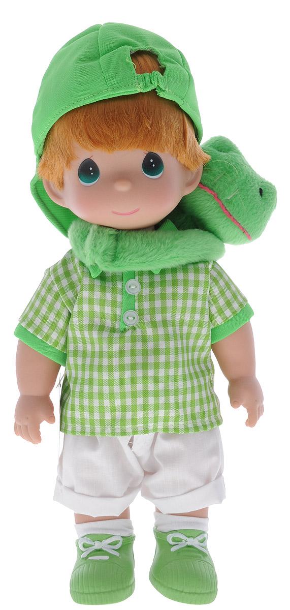 Precious Moments Кукла Мальчик и лягушонок Элли куклы и одежда для кукол precious кукла балерина рыжая 30 см
