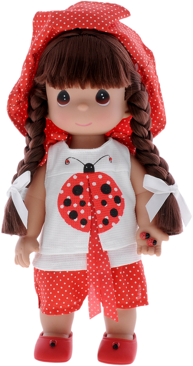 Precious Moments Кукла Горошинка брюнетка куклы и одежда для кукол precious кукла пастушка в розовом 14 см