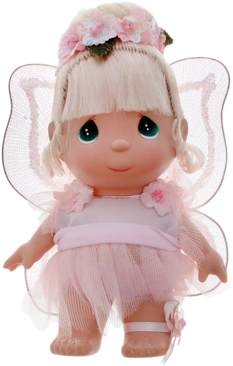 precious moments кукла ты мой друг Precious Moments Мини-кукла Фея цвет наряда розовый
