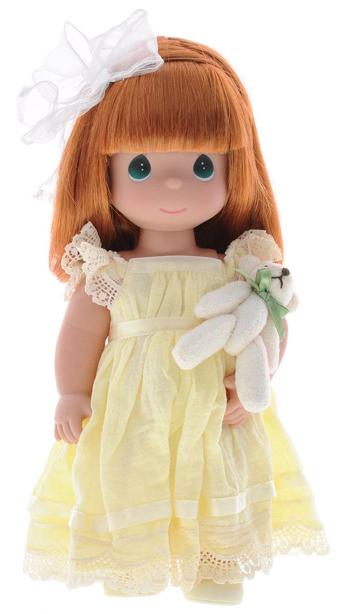 Precious Moments Кукла Люби меня цвет волос рыжий куклы и одежда для кукол precious кукла пастушка в розовом 14 см