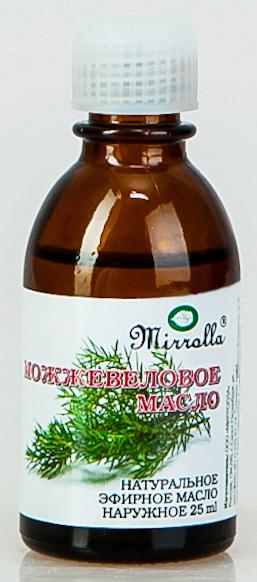 Масло эфирное Мирролла Можжевельник 25мл, Mirrolla