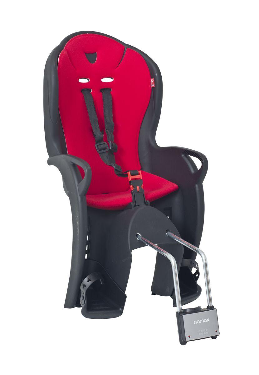 Детское кресло Hamax Kiss, цвет: черный, красный