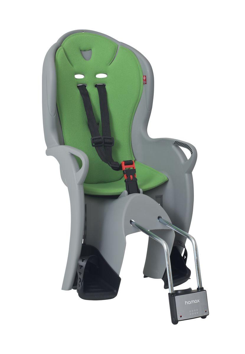 Детское кресло Hamax Kiss, цвет: серый, зеленый