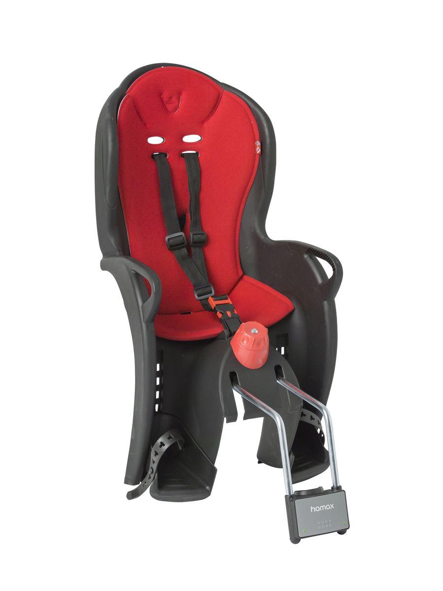 Детское кресло Hamax Sleepy, цвет: черный, красный