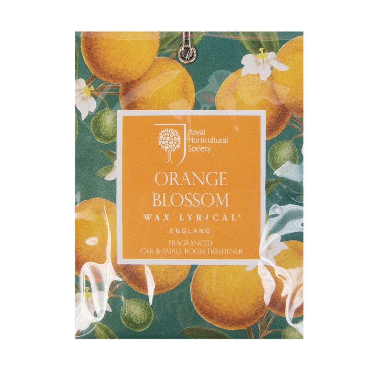 Мини-саше ароматическое Wax Lyrical Цветок апельсина, 20 гRH5845Мини-саше ароматическое Wax Lyrical Цветок апельсина имеет красивый весенний аромат цветущего апельсинового дерева и гардении со свежим воздушным зелёным оттенком верхних нот, подчеркнутый тёплой основой из амбры и мускуса.