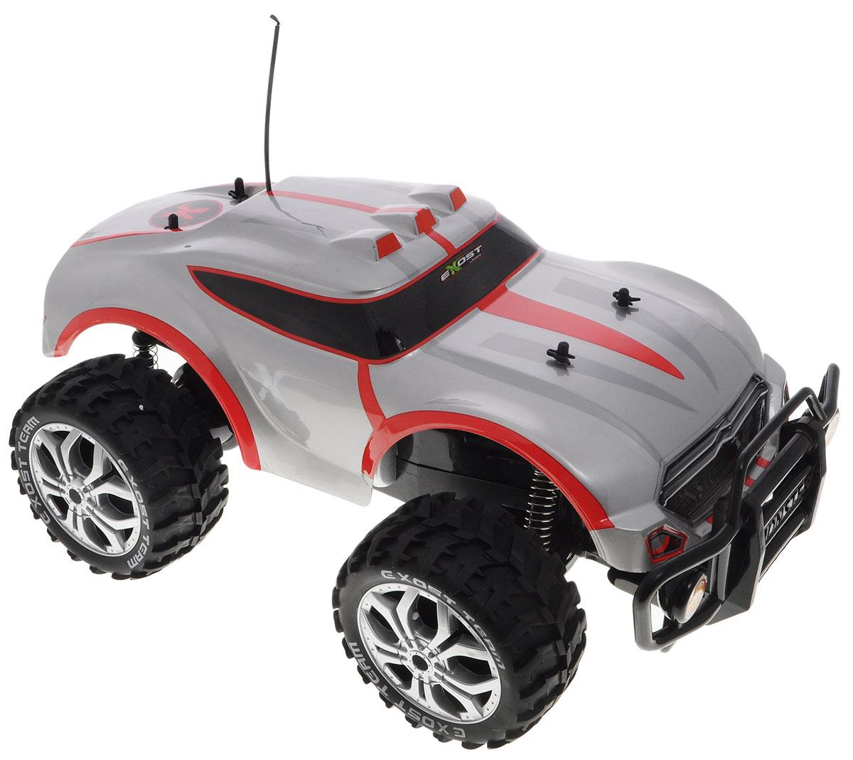 Silverlit Машина на радиоуправлении Футур Кросс цвет серый красный silverlit digibirds пингвин фигурист с кольцом серый