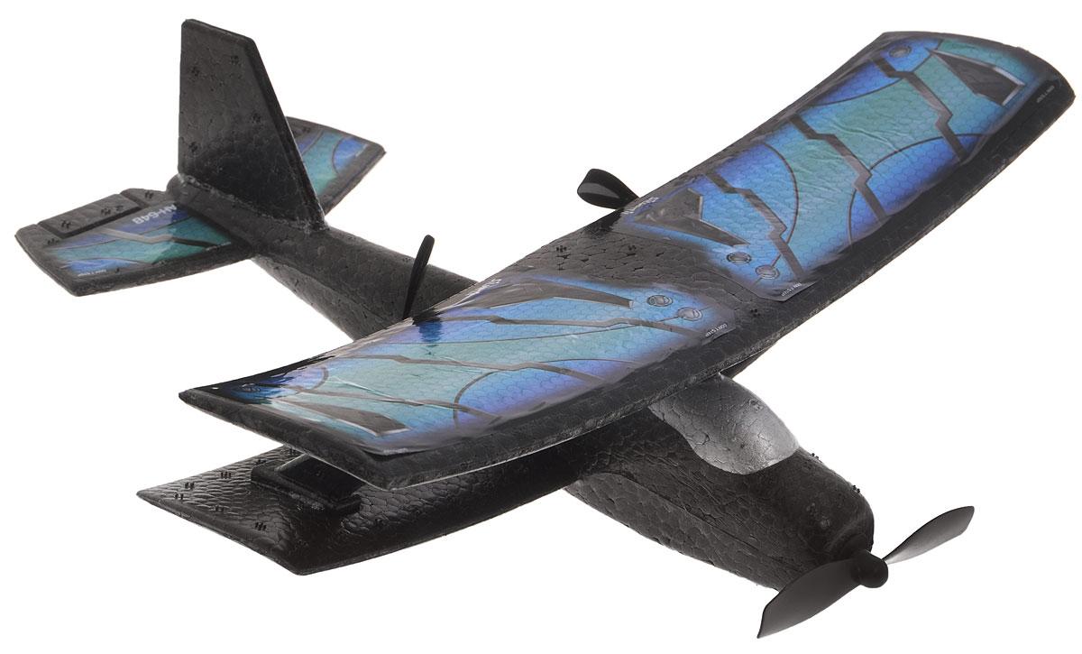 Silverlit Самолет на радиоуправлении Классический цвет синий голубой - Радиоуправляемые игрушки