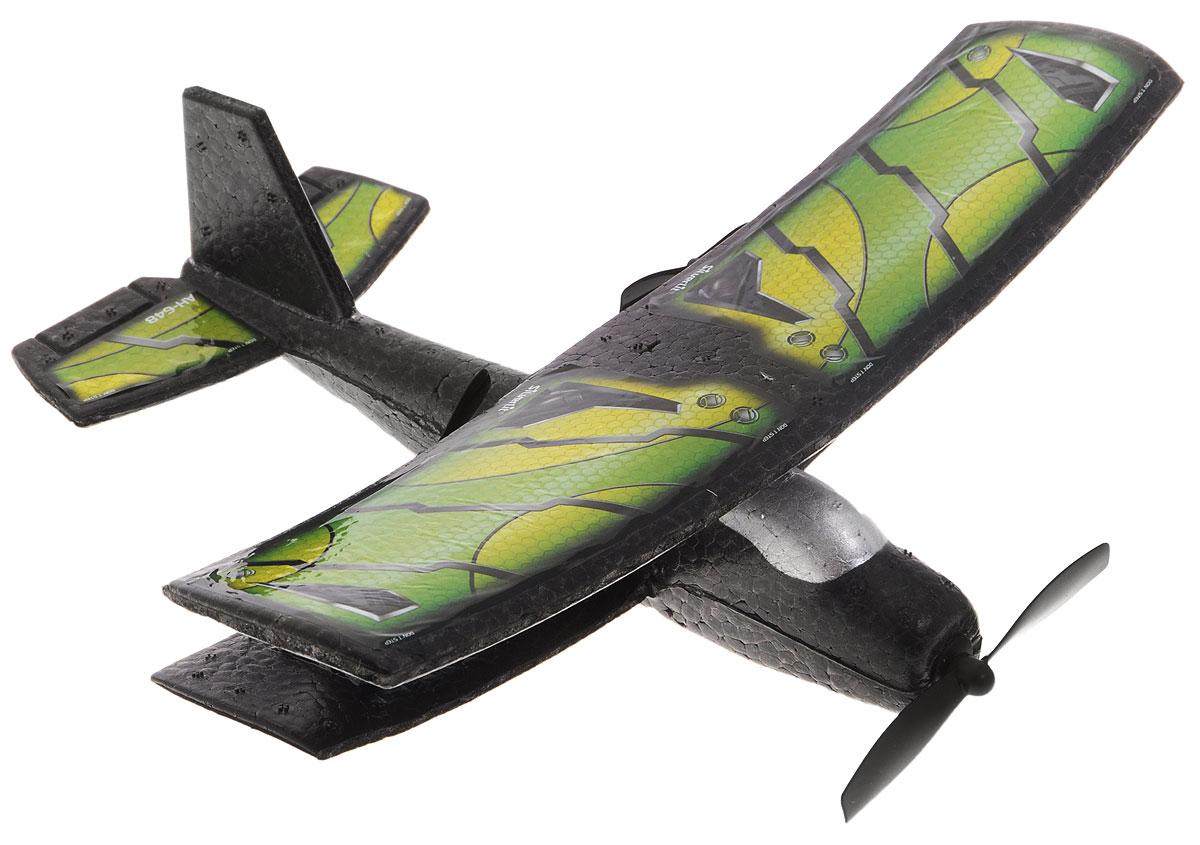 Silverlit Самолет на радиоуправлении Классический цвет зеленый желтый