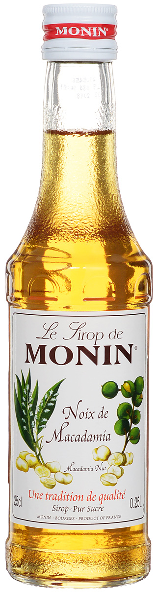 Monin Бразильский орех сироп, 0.25 лSMONN0-000099Густой и маслянистый вкус сиропа Monin Бразильский орех очень напоминает более знакомый в России фундук. Подходит к десертам, кофе, лимонаду, чаю, коктейлям.Сиропы Monin выпускает одноименная французская марка, которая известна как лидирующий производитель алкогольных и безалкогольных сиропов в мире. В 1912 году во французском городке Бурже девятнадцатилетний предприниматель Джордж Монин основал собственную компанию, которая специализировалась на производстве вин, ликеров и сиропов. Место для завода было выбрано не случайно: город Бурже находился в непосредственной близости от крупных сельскохозяйственных районов - главных поставщиков свежих ягод и фруктов.Производство сиропов стало ключевым направлением деятельности компании Monin только в 1945 году, когда пост главы предприятия занял потомок основателя - Пол Монин. Именно под его руководством ассортимент марки пополнился разнообразными сиропами из натуральных ингредиентов, которые молниеносно заслужили блестящую репутацию в кругу поклонников кофейных напитков и коктейлей. По сей день высокое качество остается базовым принципом деятельности французской марки. Сиропы Monin создаются исключительно из натуральных ингредиентов по уникальным технологиям, позволяющим сохранять в готовом продукте все полезные свойства природного сырья.Эксперты всего мира сходятся во мнении, что сиропы Monin - это законодатели мод в миксологии. Ассортимент французской марки на сегодняшний день является самым широким и насчитывает полторы сотни уникальных вкусовых решений. В каталоге компании можно найти как классические вкусы для кофейных напитков (шоколадный, ванильный, ореховый и другие сиропы), так и весьма экзотические варианты (сиропы со вкусом кокоса, зеленой мяты, тирамису, блю курасао, аниса, грейпфрута, пина колады и так далее.). Отметим, что все сиропы обладают мягкими, деликатными вкусовыми и ароматическими характеристиками, что говорит о натуральном составе продуктов.