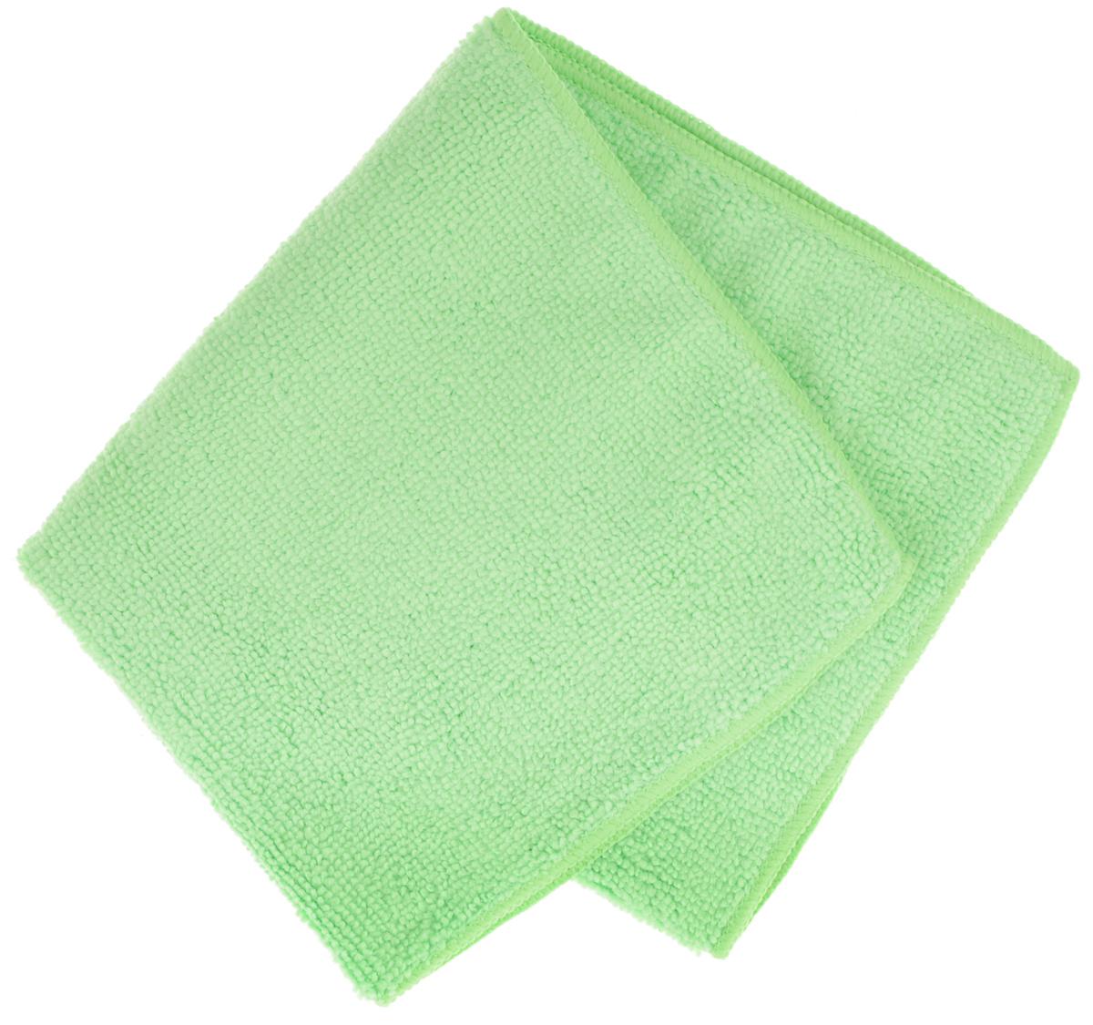 Салфетка для уборки Sol из микрофибры, цвет: зеленый, 30 x 30 см10007/10052Салфетка Soll выполнена из микрофибры. Микрофибра - это ткань из тонких микроволокон, которая эффективно очищает поверхности благодаря капиллярному эффекту между ними. Такая салфетка может использоваться как для сухой, так и для влажной уборки. Деликатно очищает любые поверхности не оставляя следов и разводов. Идеально подходит для протирки полированной мебели.Рекомендации по применению и уходу: Для обеспечения гигиеничности рекомендуется прополаскивать салфетку после каждого применения с моющим средством. Для сохранения мягкости не рекомендуется сушить вблизи отопительных приборов и на батареях. Нельзя стирать с отбеливающими средствами, кипятить и гладить.