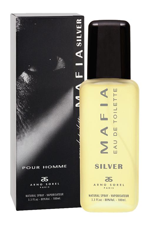 Corania Туалетная вода Mafia Silver (Mafia Silver) мужская 100 мл42692Туалетная вода Mafia Silver откроет новую парфюмерную главу в вашей жизни. Порадует стойким древесно-пряным ароматом, который обязательно заметят родные и близкие. Классификация аромата: древесный, пряныйПирамида аромата:Верхние ноты: бергамот, анисНоты сердца: эвкалипт, шалфей, лаванда, дубовый мохНоты шлейфа: белый мускус, пачули, ваниль, сандалКлючевые слова: древесный, мужественный, стойкий