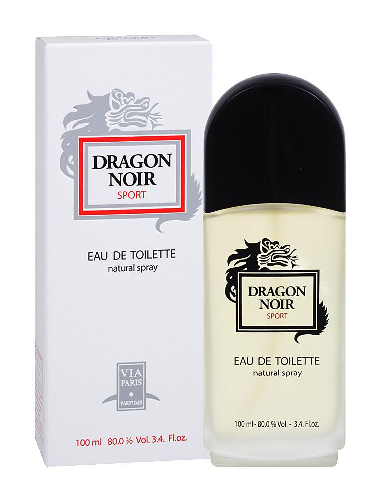 Dragon Parfums Туалетная вода Dragon Noir Sport (Драгон Нуар Спорт) мужская 100 мл