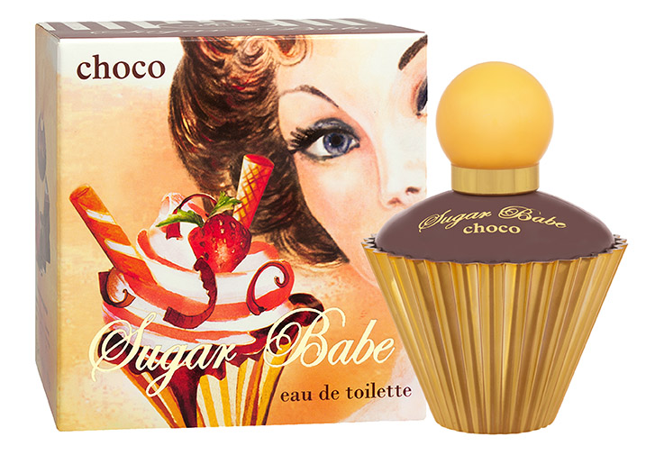 Apple Parfums Туалетная вода Sugar Babe choco (Шуга Бэби чоко) женская 50ml42830Sugar Babe Choco - это яркий, фруктовый, запоминающийся парфюм от российского бренда Apple Parfums. Композиция аромата разработана в Швейцарии.Классификация аромата: цветочно-фруктовый Пирамида аромата: Верхние ноты: нероли, лимон, малина Ноты сердца: жасмин, апельсин, гардения Ноты шлейфа: пачули, белый мед, шоколад, амбра Ключевые слова: сладкий, сочный, нежныйКраткий гид по парфюмерии: виды, ноты, ароматы, советы по выбору. Статья OZON Гид