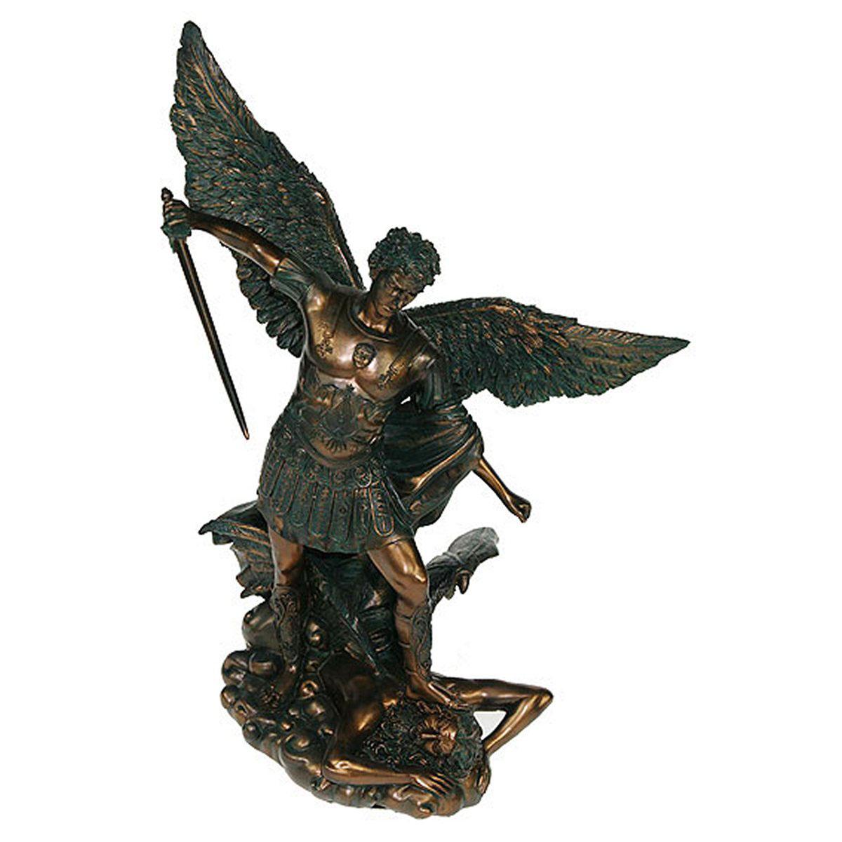 Статуэтка Русские Подарки Архангел Михаил, 24 х 29 см статуэтка русские подарки африканка 11 х 15 х 24 см