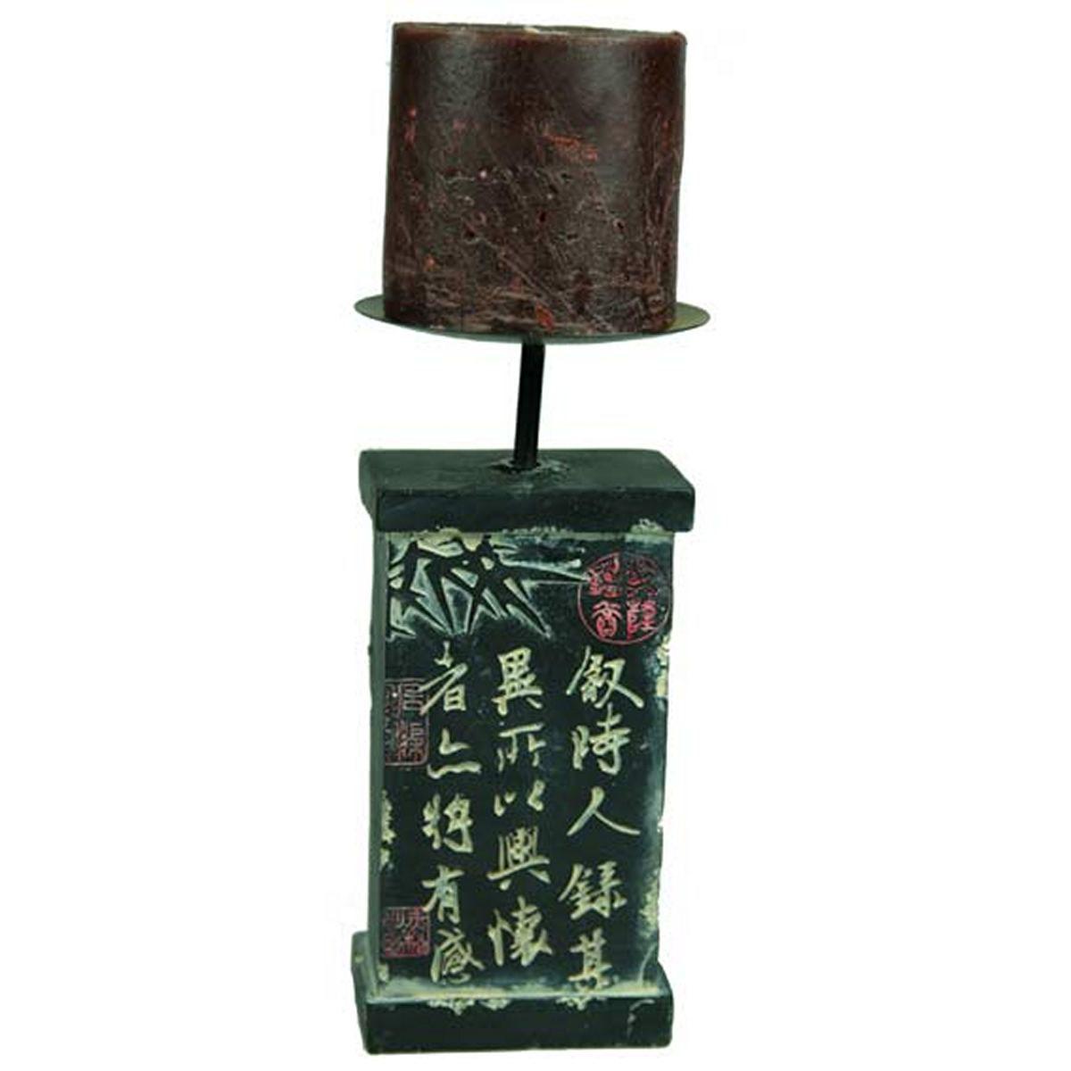 Подсвечник Русские Подарки Япония, на 1 свечу, 9 х 9 х 23 см20243