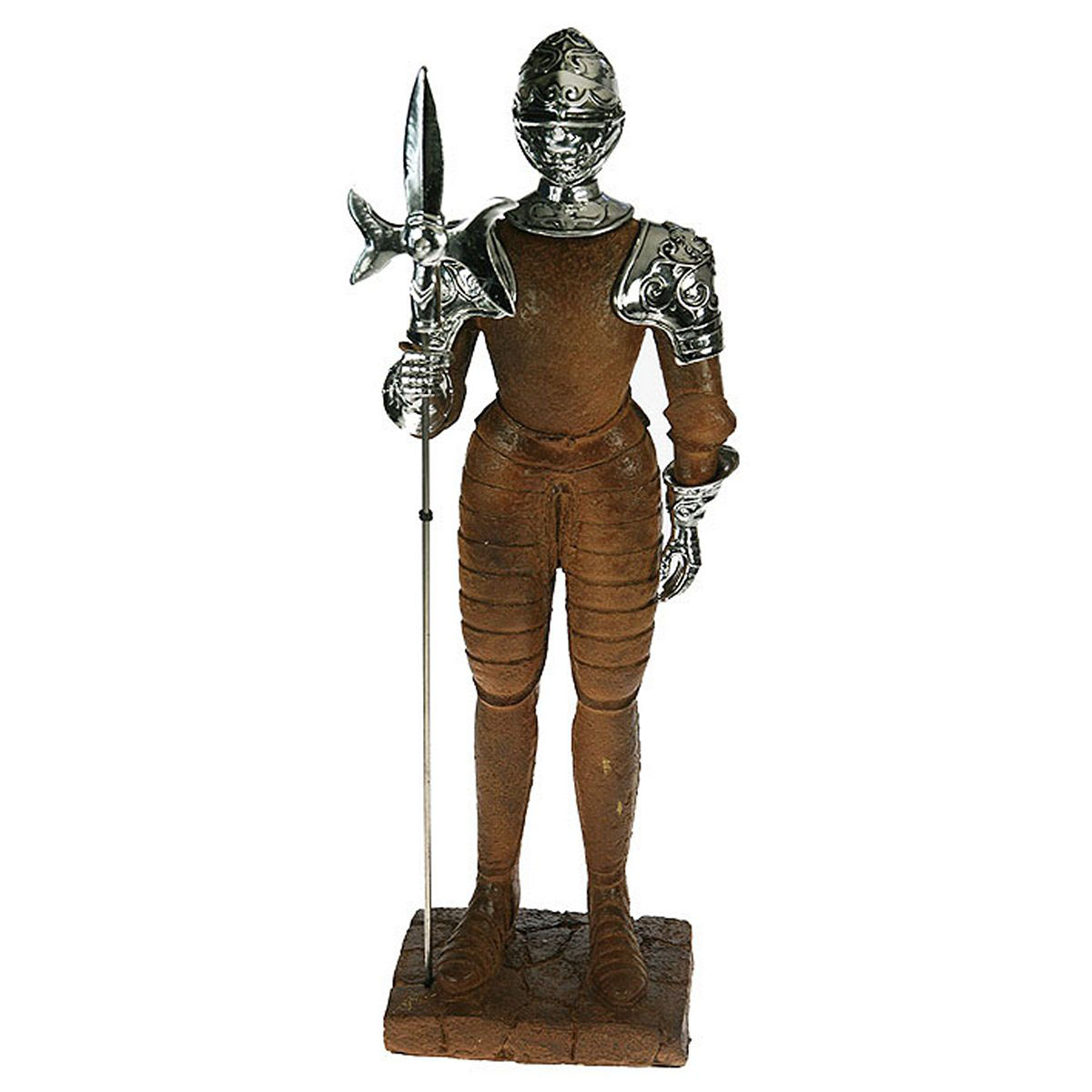 Статуэтка Русские Подарки Рыцарь, 18 х 12 х 54 см статуэтка русские подарки африканка 14 х 15 х 22 см