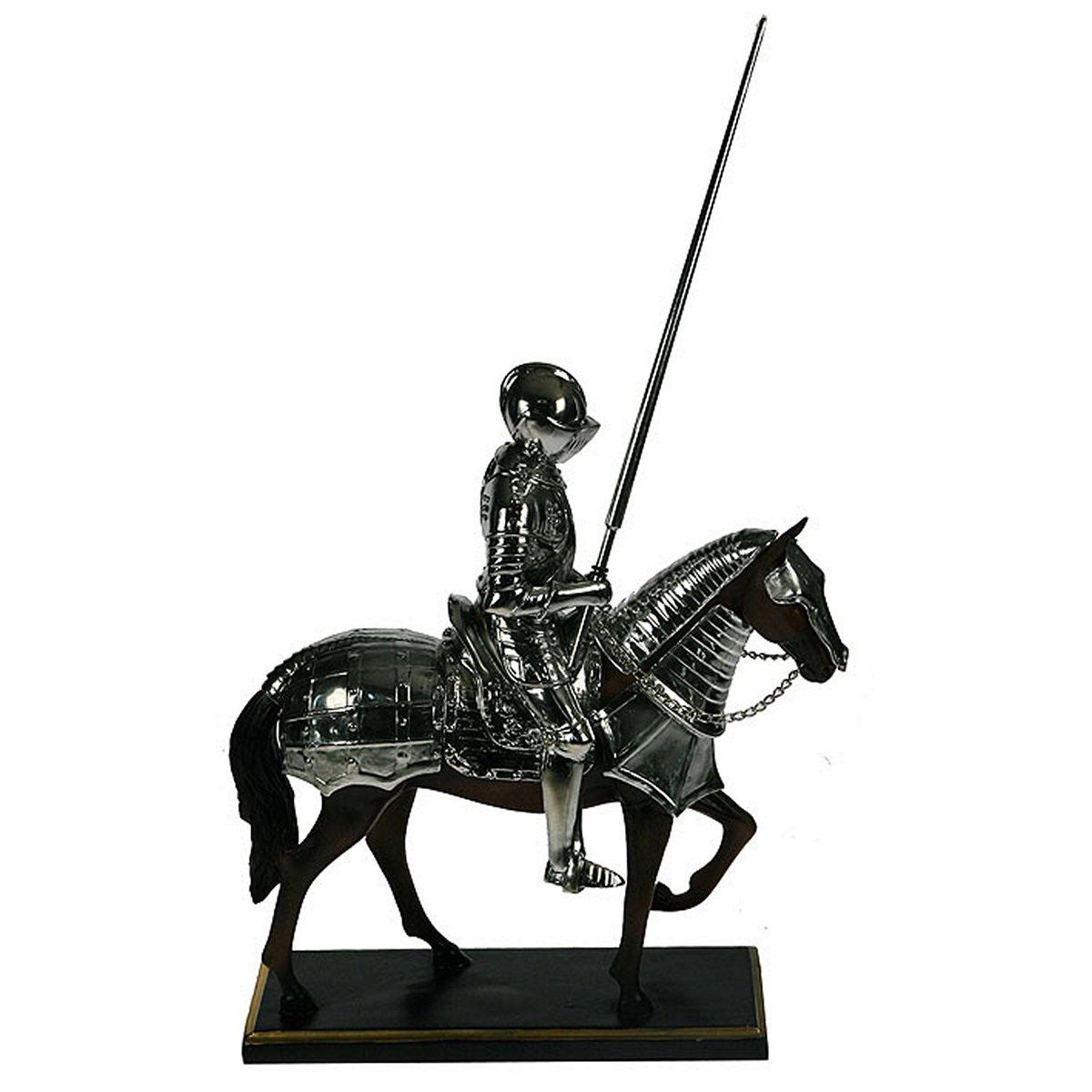 Статуэтка Русские Подарки Рыцарь, 30 х 12 х 35 см статуэтка русские подарки африканка 14 х 15 х 22 см