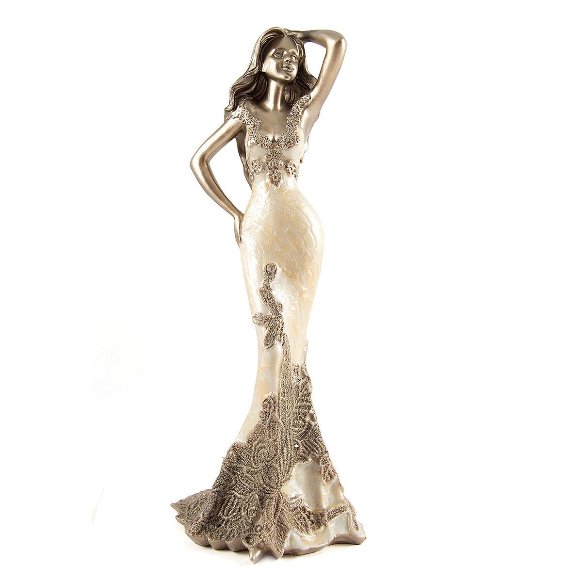 Статуэтка Русские Подарки Девушка, 14 х 14 х 34 см. 27575 русские подарки статуэтка девушка