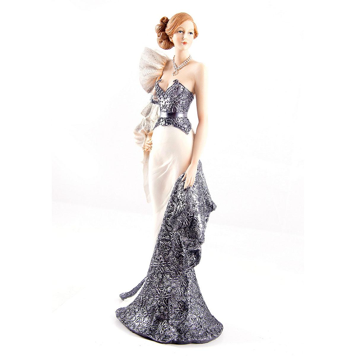 Статуэтка Русские Подарки Мисс Изысканность, 15 х 8 х 34 см статуэтка русские подарки мисс рандеву 11 х 10 х 31 см