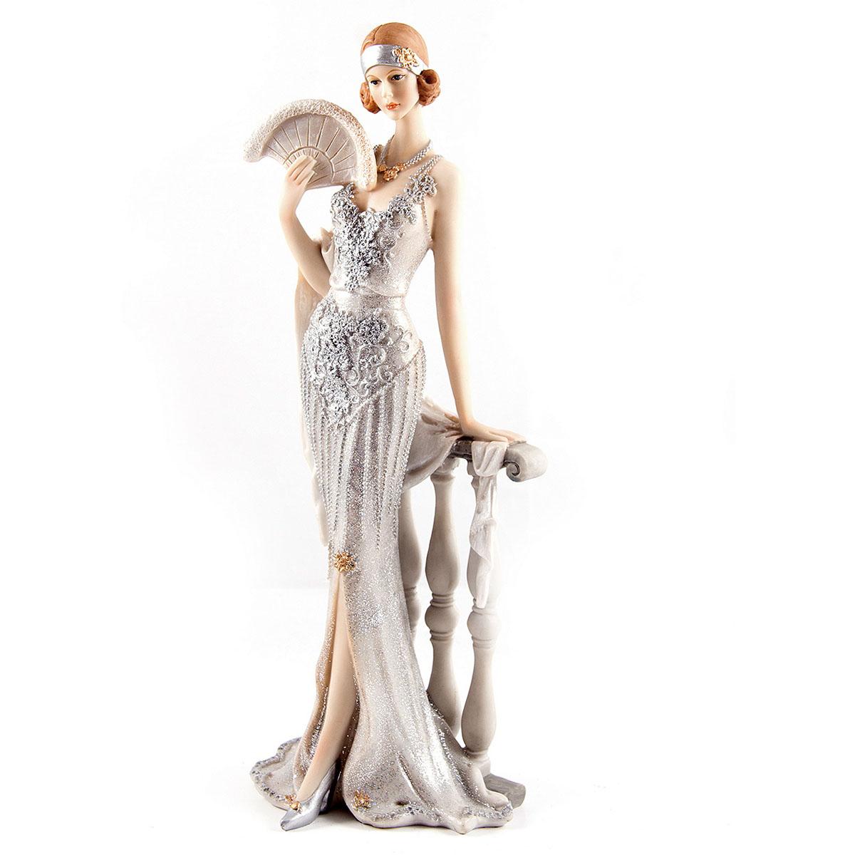 Статуэтка Русские Подарки Мисс Утонченность, 12 х 10 х 34 см статуэтка русские подарки мисс рандеву 11 х 10 х 31 см
