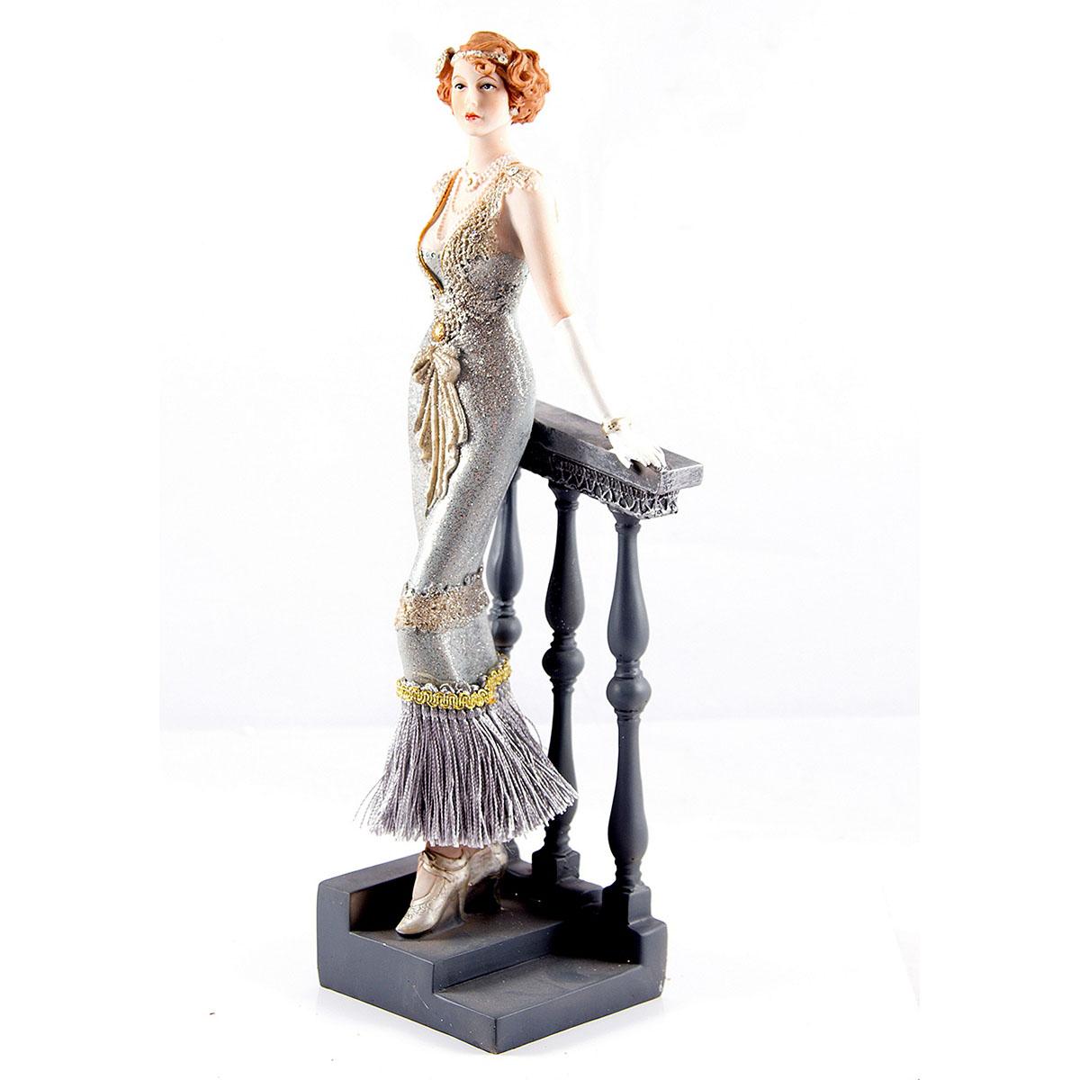 Статуэтка Русские Подарки Мисс Серцеедка, 13 х 9 х 34 см статуэтка русские подарки мисс рандеву 11 х 10 х 31 см