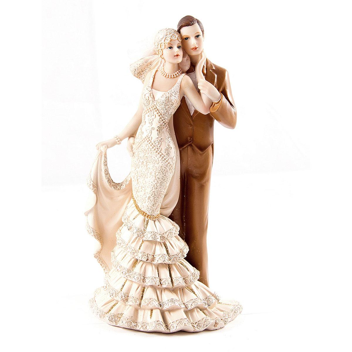 Статуэтка Русские Подарки Влюбленные, 13 х 11 х 22 см статуэтка русские подарки мисс рандеву 11 х 10 х 31 см
