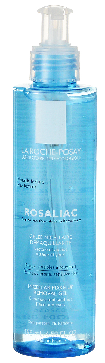 La Roche-Posay Очищающий мицеллярный гель для лица Rosaliac 195 мл la roche posay rosaliac гель 200 мл