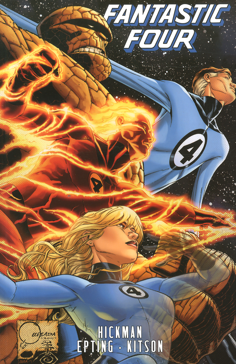 Fantastic Four by Jonathan Hickman: Volume 5 b p r d hell on earth volume 6 the return of the master