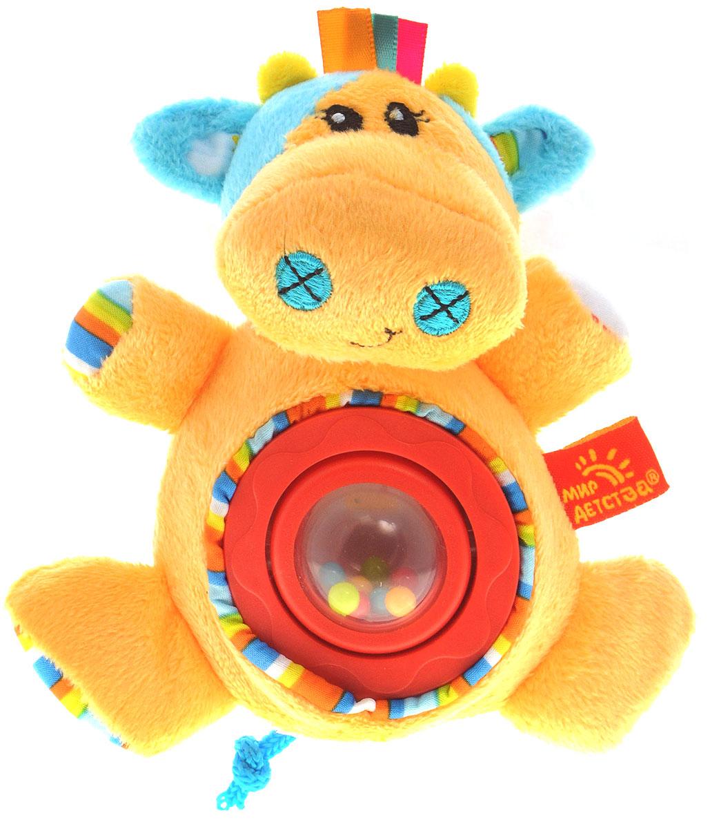 Мир Детства Мягкая игрушка-погремушка Артистка Виолетта цвет круга красный фиксатор двери мир детства мишка