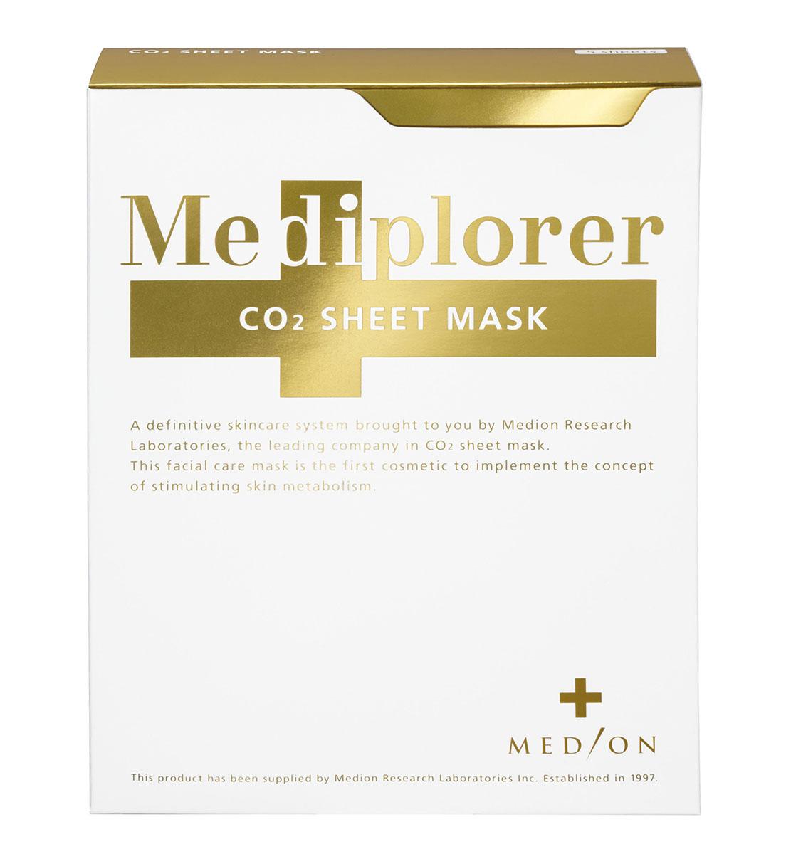 Mediplorer Маска СО2 листовая Sheet Mask, 5 штM004Оживляющая листовая маска на основе углекислого газа и комплекса высокоэффективных компонентов (ацетилированного гиалуроната натрия и экстрактов фитоплаценты розы, артемии (морского планктона) и морской травы). Стимулирует клеточный метаболизм, обладает ревитализирующим действием, интенсивно увлажняет и регулирует баланс кожи. Маска также обеспечивает более глубокое проникновение активных компонентов всех средств Mediplorer и заметный положительный эффект. Рекомендуется для всех типов кожи.