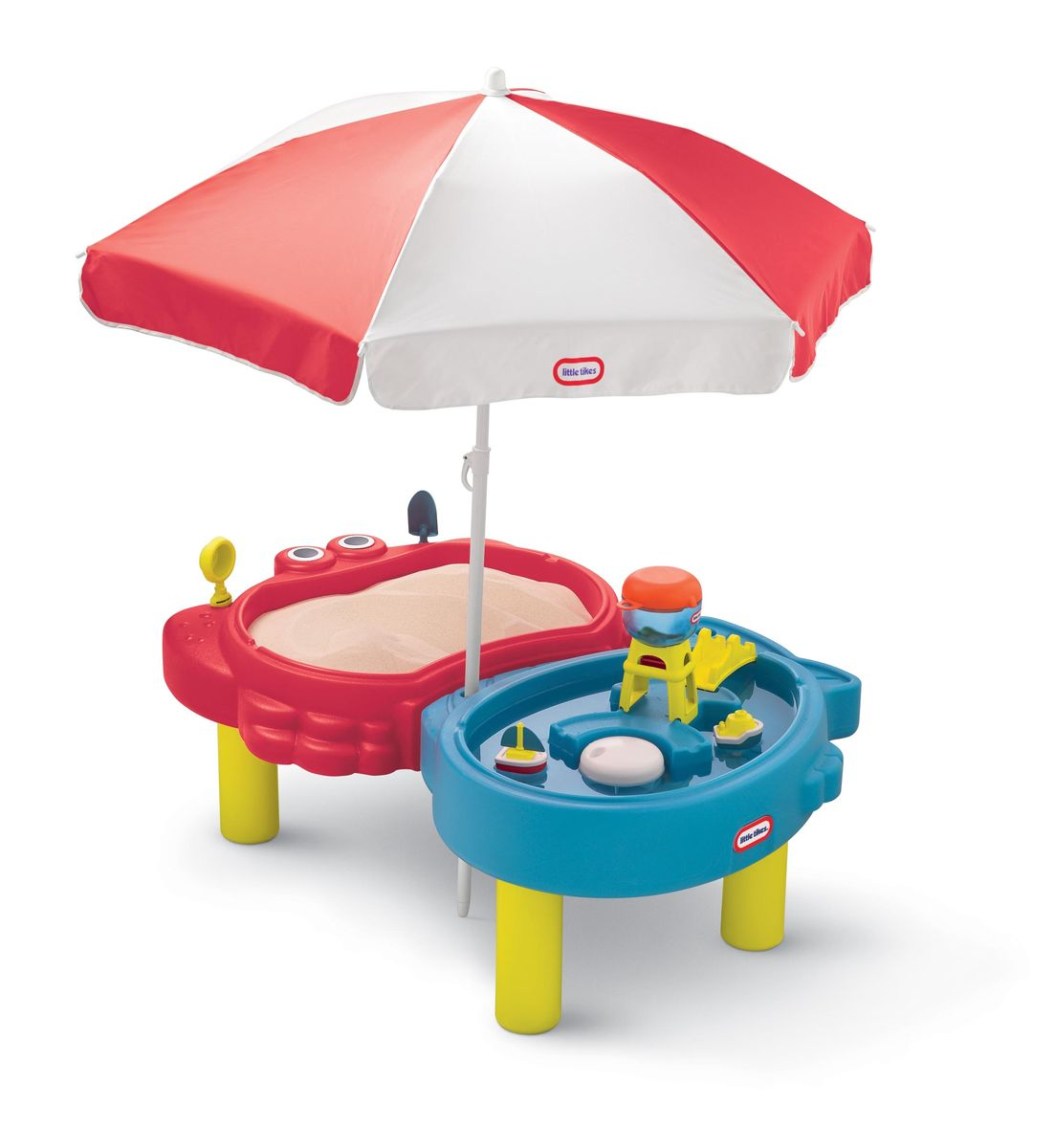 Little Tikes Стол-песочница с зонтом