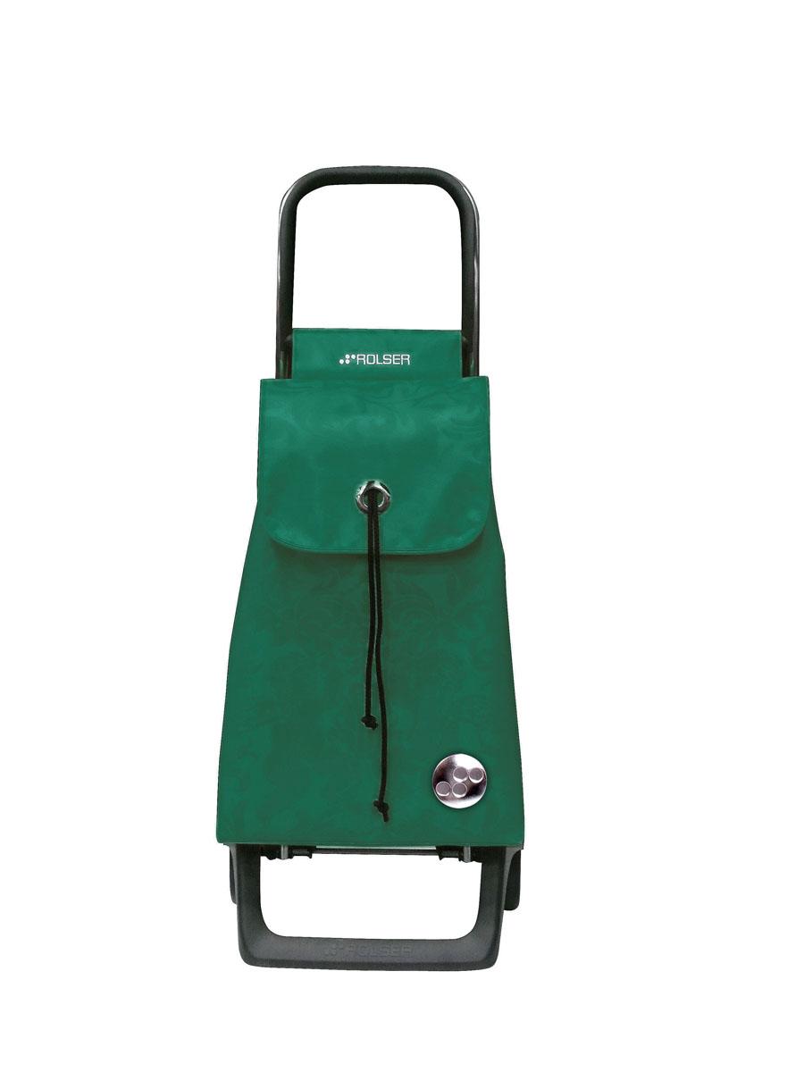 Сумка хозяйственная Rolser, на колесиках, цвет: бирюзовый, 36 лBAB008 verdeАлюминиевая тележка для покупок Rolser с 2 колесами. Колеса выполнены из резины EVA. Эргономичная ручка, складываемая передняя подставка. Сумка имеет форму рюкзака, ткань полиэстер, влагоустойчивая. Сумка удобно закрывается и легко крепится на раме. Тележка не складывается. Объем: 36 л. Диаметр колес: 13,2 см. Рекомендованная нагрузка: 25 кг.Чистка ручная или химчистка.