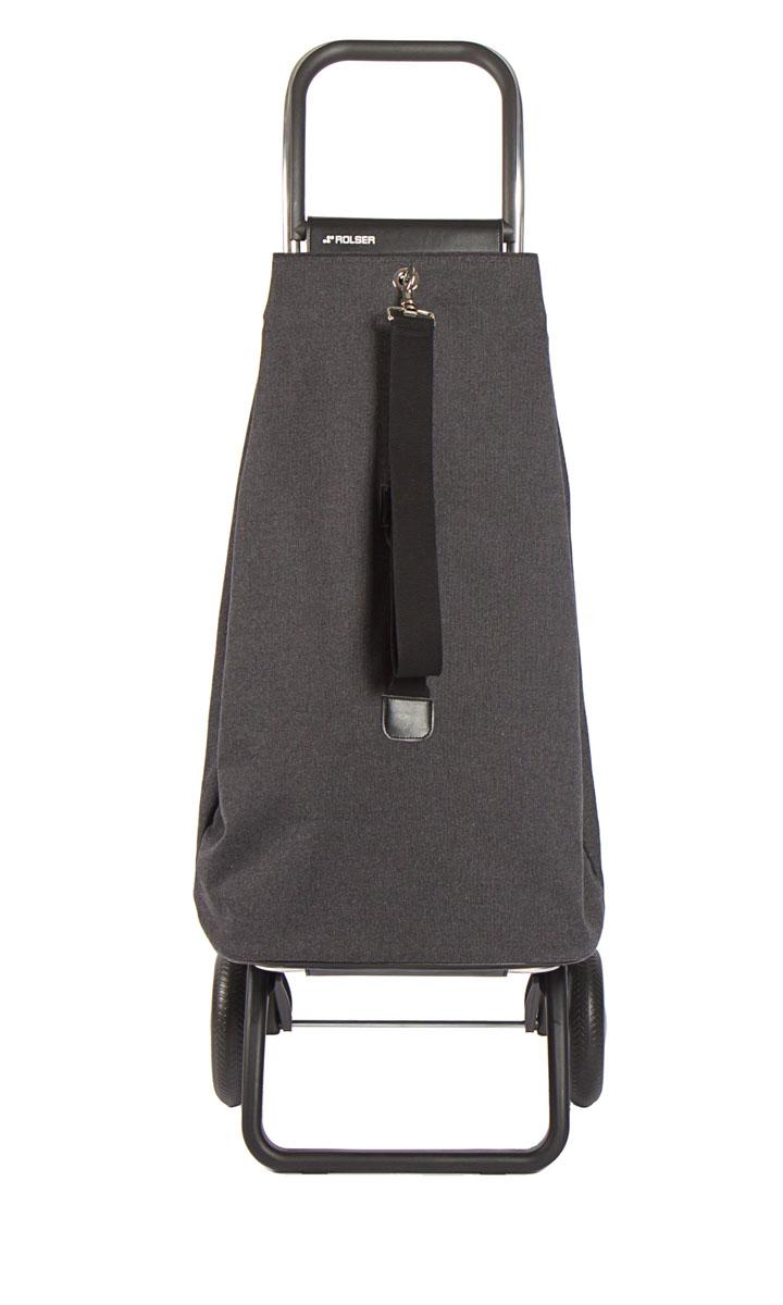 Сумка хозяйственная Rolser, на колесиках, цвет: carbon, 57 лGC204/30Сумка-рюкзак-тележка для путешествий и покупок с 2 колесами, диаметр колес 16,5 см. Можно использовать как ручную кладь в самолете и носить отдельно от рамы, есть внутренняя съемная подкладка, оригинальная застежка, капюшон для защиты от дождя верхнего отверстия. 2 типа сложение: двойное сложение рамы и передней подставки, занимает минимальное место в сложенном виде при хранении, имеет специальное устройство для прикрепления к тележке супермаркета. Объем сумки 57 л, рекомендованная нагрузка 25 кг, каркас алюминий, колеса резина EVA, ткань полиэстер. Тележка складывается. Рекомендованная нагрузка 25 кг, чистка ручная или химчистка.