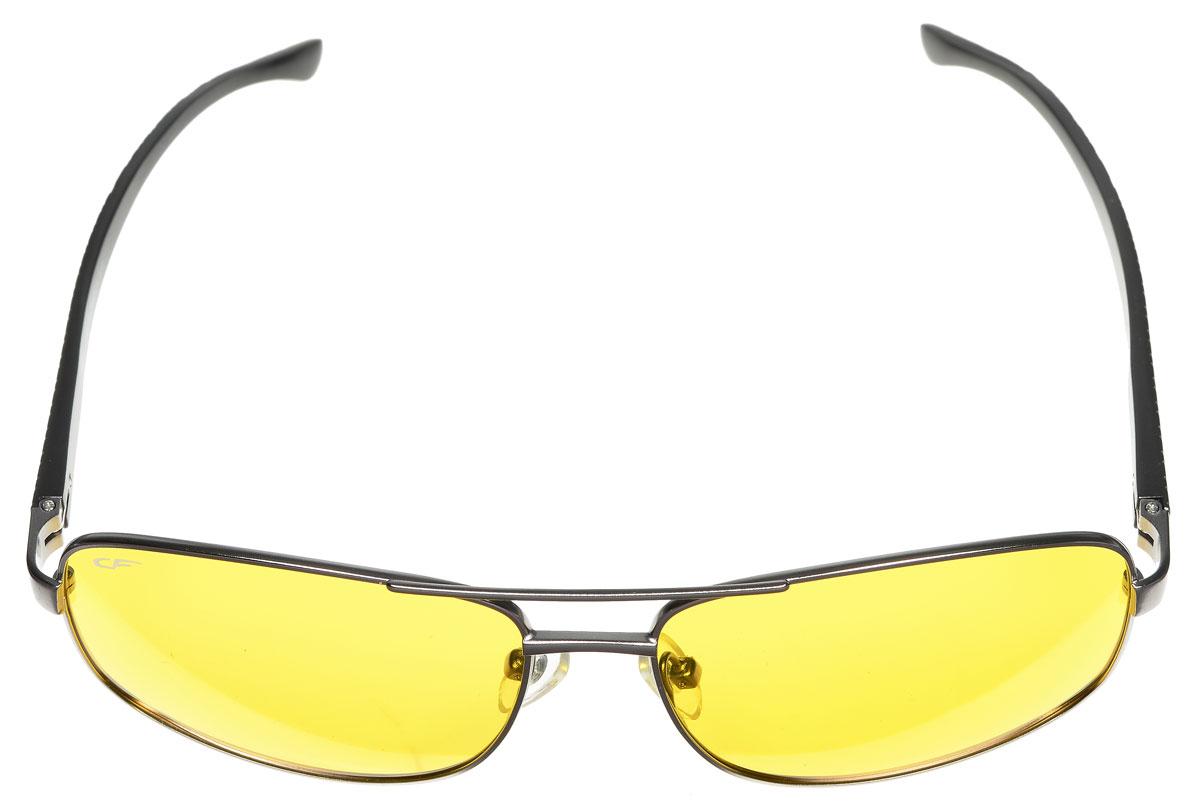 Очки поляризационные Cafa France, цвет: серый металлик, желтый. CF632Y