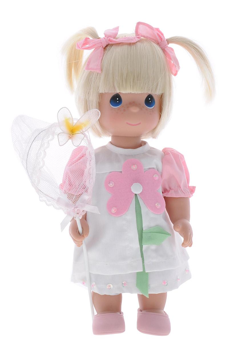 Precious Moments Кукла Поцелуй бабочки для тебя блондинка куклы и одежда для кукол bayer малышка первый поцелуй 42 см