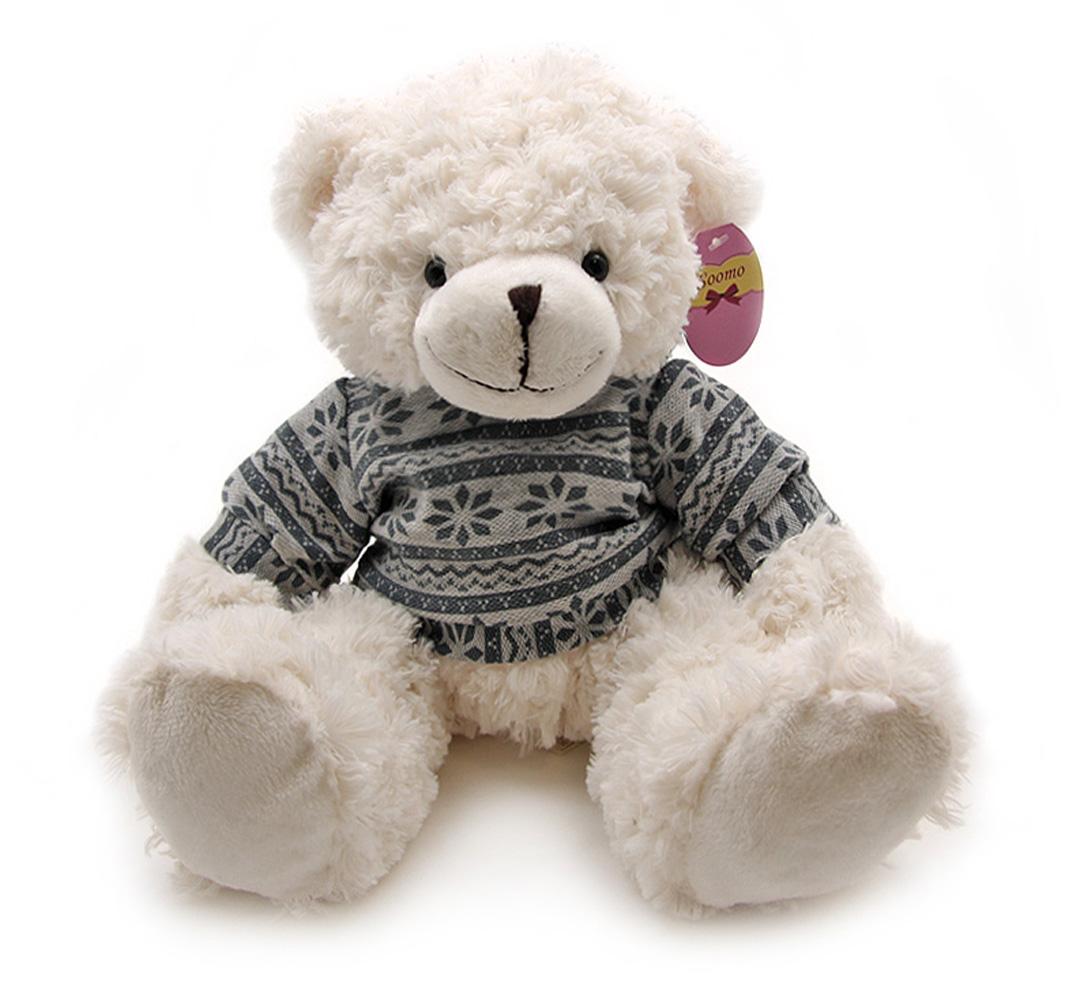 Soomo Мягкая игрушка Медведь Бьорн 23 см мягкая игрушка белый медведь 27 см