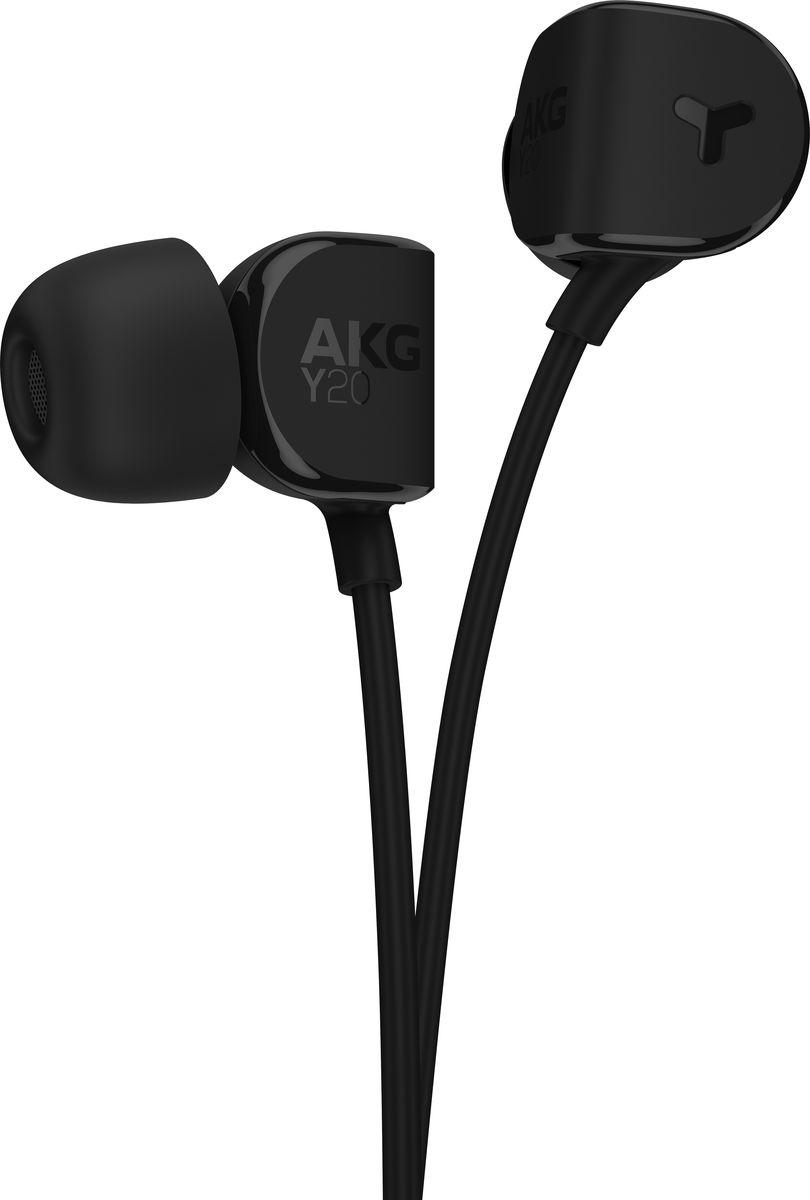 AKG Y20, Black наушники bluetooth гарнитура akg y 45bt black