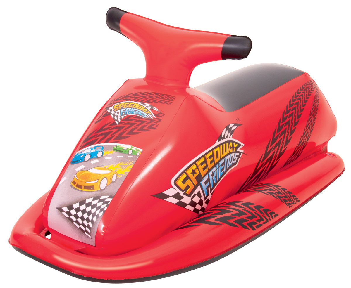 Bestway Надувной скутер цвет красный скутер