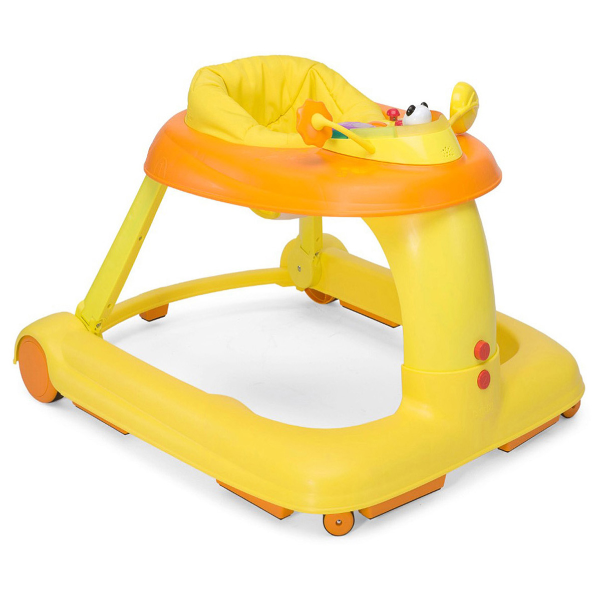 Chicco Каталка-ходунки 123 Baby Walker цвет оранжевый