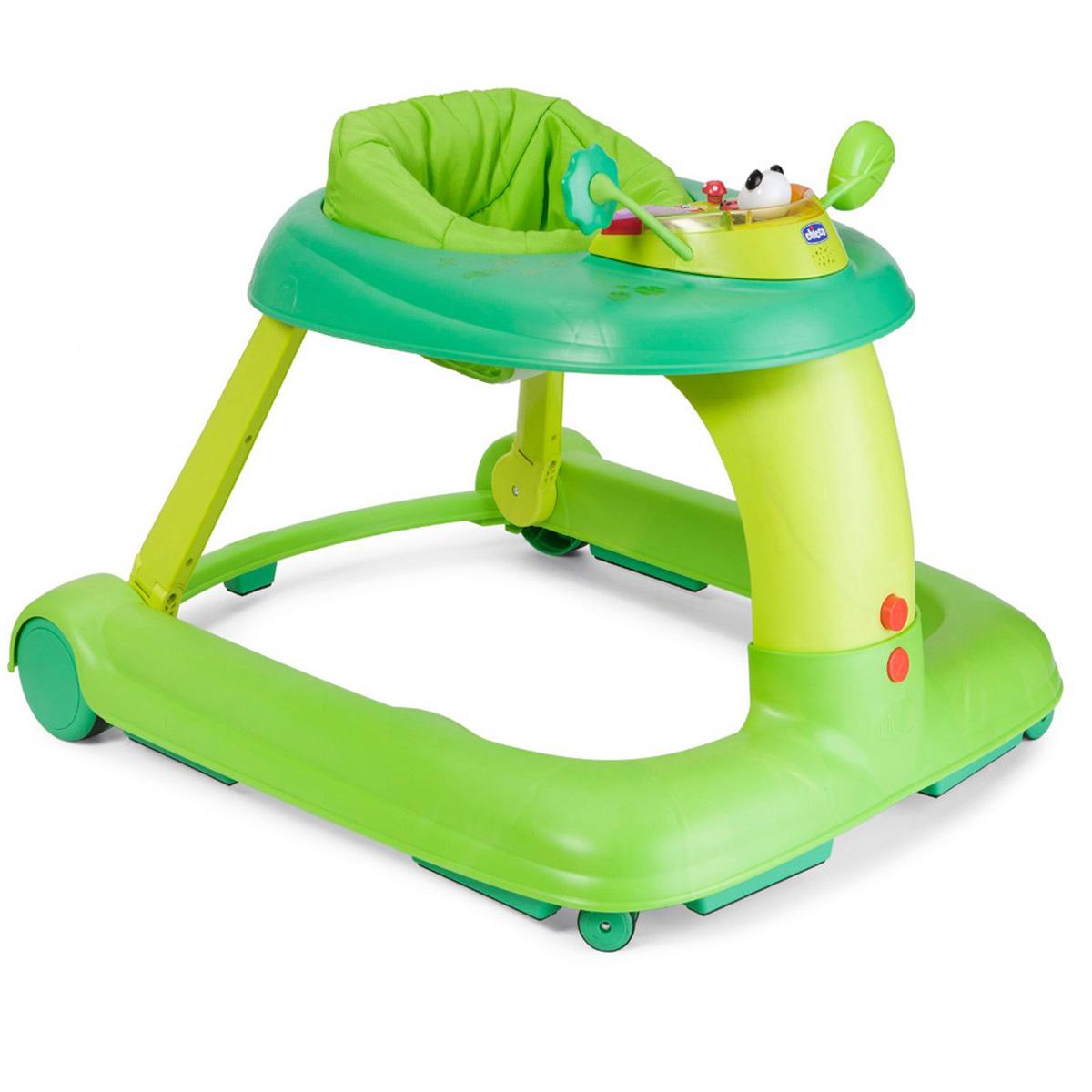 Chicco Каталка-ходунки 123 Baby Walker цвет зеленый