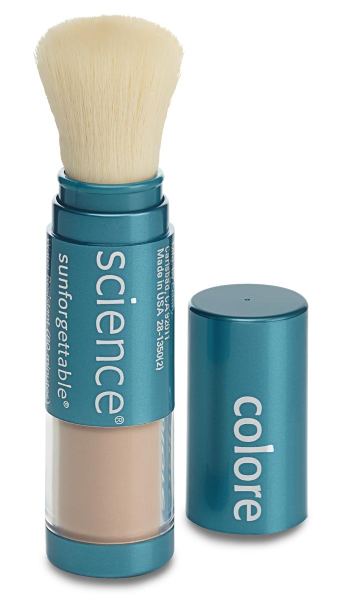 Colorescience Рассыпчатая минеральная пудра Sunforgettable SPF50 - Средний, 6 г