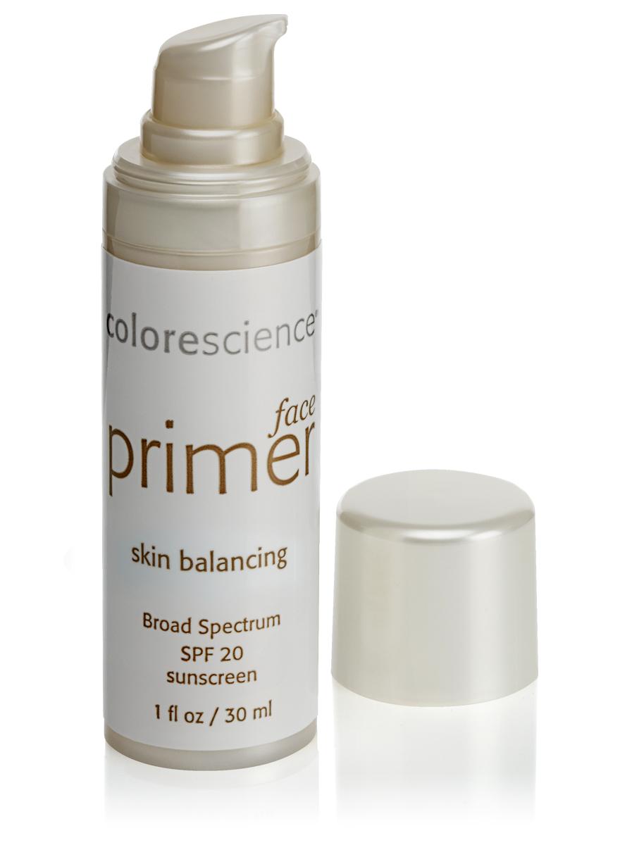 Colorescience Праймер-баланс (основа под макияж) SPF20 -Face Primer Skin Balancing SPF203117Rev1Помогает восстановить водный баланс и поддерживает увлажненность комбинированной кожи, убирает красноту. Придает здоровый оттенок, улучшая общий тон кожи.
