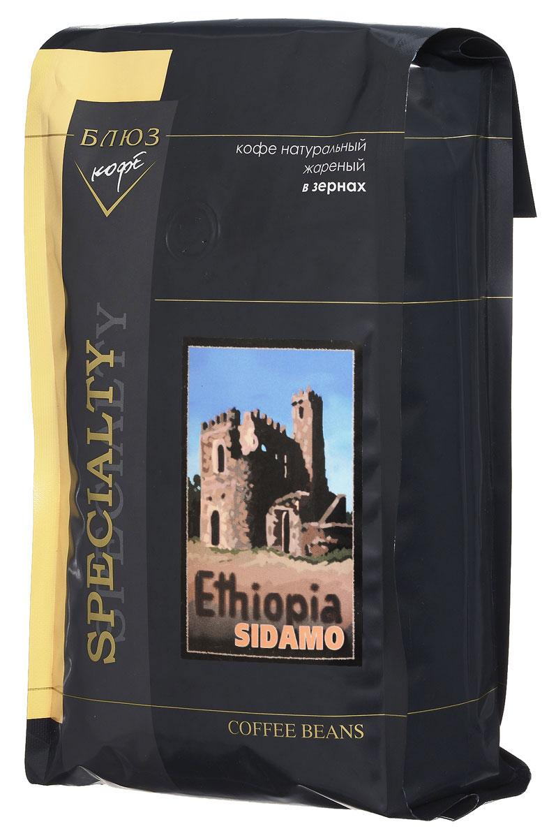 Блюз Эфиопия Мокко Сидамо кофе в зернах, 1 кг4600696210125Блюз Эфиопия Мокко Сидамо - арабика из южной части Эфиопии. Данный сорт имеет особый индивидуальный вкус с фруктовым и шоколадным оттенками и пикантный фруктовый аромат. Настой крепкий, с долгим послевкусием. Богатый, хорошо сбалансированный букет подарит вам незабываемые ощущения.Кофе: мифы и факты. Статья OZON Гид