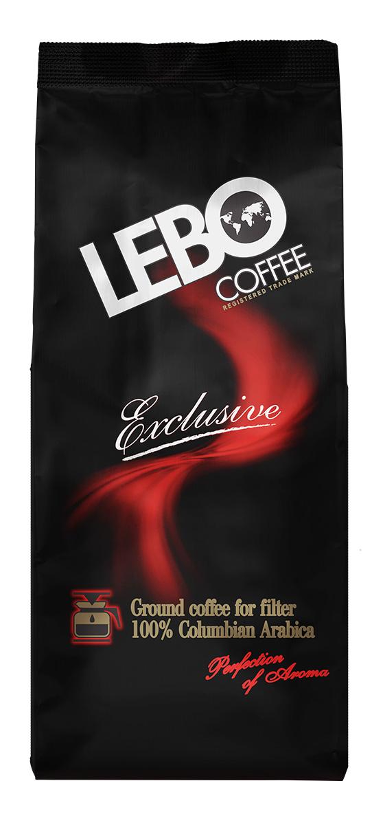Lebo Exclusive Арабика кофе молотый для кофеварки, 200 г4602076000449Натуральный жареный молотый кофе Lebo Exclusive приготовлен из отборных сортов кофе, выращенных на высокогорных плантациях Колумбии. Вкус кофе насыщенный, богатый, со сладостью карамели, нотками какао и незабываемым фруктово-винным послевкусием. С самого первого глотка его бодрящий вкус и деликатный, богатый аромат покорит даже самого настоящего гурмана. Кофе идеален для приготовления в кофеварке. Кофе: мифы и факты. Статья OZON Гид