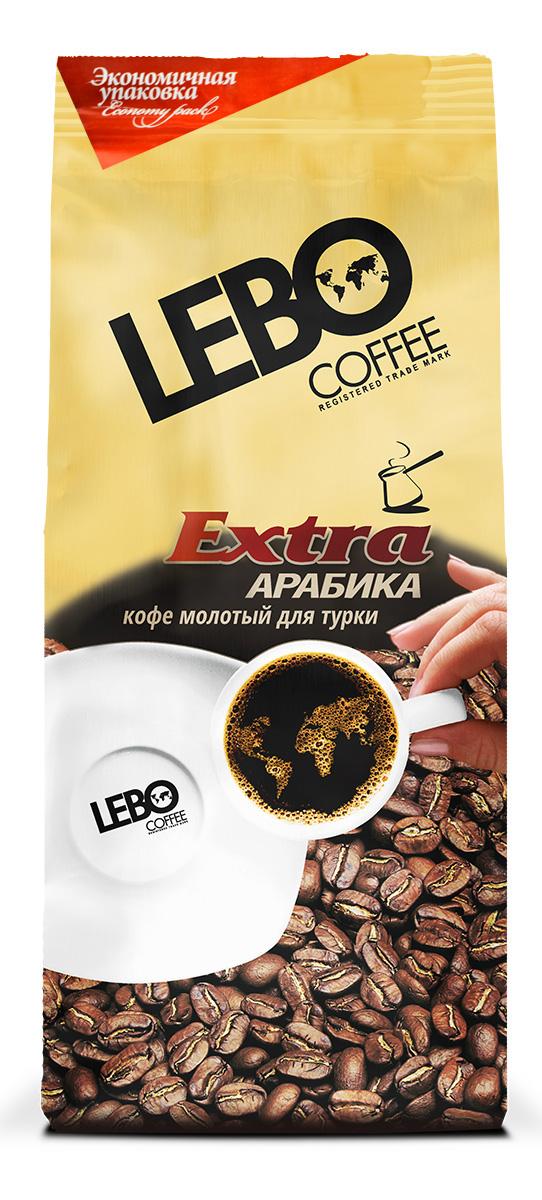 Lebo Extra Арабика кофе молотый, 200 г блюз ароматизированный шоколад кофе молотый 200 г