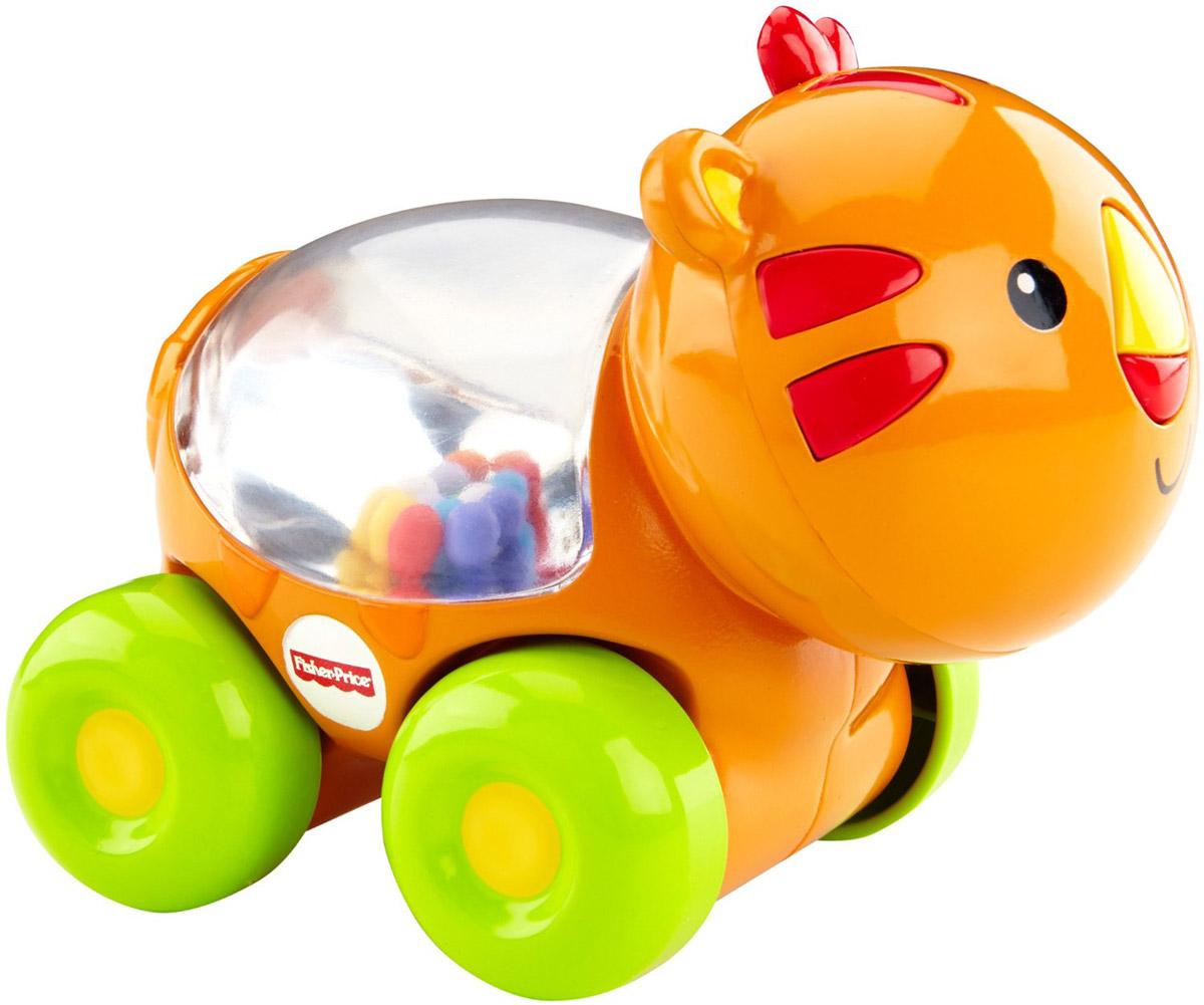 Fisher-Price Развивающая игрушка Тигренок с прыгающими шариками fisher price развивающая игрушка тигренок с прыгающими шариками